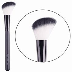"""Glow On Bronzer Brush """"You look fabulous!"""" """"Have you been on holiday?"""" Just smile and know that you've got your Glow On. Tapered angled bristles help create a sun-kissed look that will have people wondering what you do with your free time."""