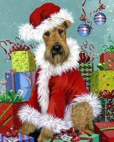 Precious pet paintings makes it east to order garden flags and house flags with dog paintings and other pets. Use the sort option to find for favorite dog breed or animal and season. Christmas Angels, Christmas Art, Christmas Holidays, Christmas Decorations, Garden Flag Stand, Garden Flags, Airedale Terrier, Thing 1, Illustrations
