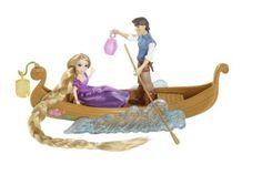 Disney Tangled Featuring Rapunzel Boat Ride Playset...NEW #Mattel