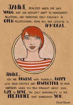 Janine by Carol Rossetti