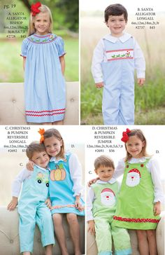 Shrimp and Grits Kids Fall 15'' Catalog