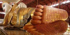Statue des Buddhas von Chaukhtatkyi