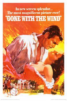E o Vento Levou  (1939) (Gone With the Wind) | Direção: Victor Fleming | Roteiro:  Margaret Mitchell, Sidney Howard | Gênero: Drama, Guerra, Romance| Origem: EUA | Duração:  238 min.