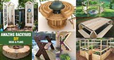 Amazing backyard DIY ideas & plans
