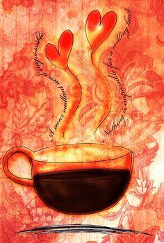 #Coffee cup #art ToniK Coffee♥Craft