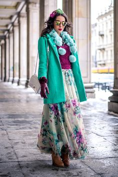 http://www.macademiangirl.com/2014/02/pom-poms-floral-maxi.html