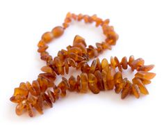 Children's Amber Necklace - 12.5 inches