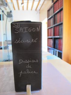 Doing dissertation research at the Diplomatic Archives in Nantes, France.