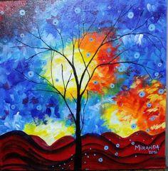 Acrilico sobre lienzo by Karina Miranda