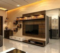 Latest Tv Unit Designs, Modern Tv Unit Designs, Wall Unit Designs, Modern Tv Wall Units, Living Room Tv Unit Designs, Modern Tv Cabinet, Tv Cabinet Design, Tv Wall Design, Living Room Partition Design