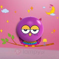 Aniołek Owl - lampka nocna LED dla dzieci 5251005