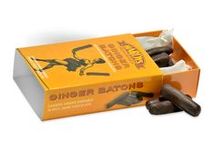 Ginger Batons Photography – David Comiskey Copyright © 2015 Hardys Trading Ltd, All Rights Reserved. British Sweets, Ginger Chocolate, Retro Sweets, Confectionery, David, Tasty, Photography, Photograph, Fotografie