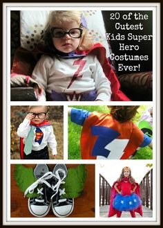 20 of the Cutest Kids Super Hero Costumes Ever!
