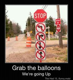 Wow! They really mean stop!
