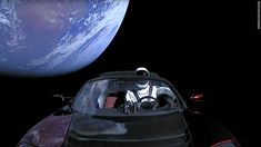 SpaceX Elon Musk's Tesla Roadster and Starman cruise away from Earth in these final photos from the car after its launch on SpaceX's first Falcon Heavy rocket on Feb. Elon Musk Spacex, Spacex Launch, Tesla Roadster, Space Law, Tesla Musk, Spacex Falcon Heavy, Flat Earth, Space Travel, Cars Motorcycles