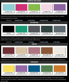 ISPO Textrend Fall/Winter 2016/2017 Color & Textile Trends #ISPO #color…