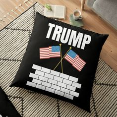 TRUMP 2020 election - Get yourself a funny custom desing from RIVEofficial Redbubble shop : )) .... tags: #president   #usa #donaldtrump  #funny #trump #buildawall #wall #humour #republican  #democrat #election #trump #2020 #findyourthing #shirtsonline #trends #riveofficial #favouriteshirts #art #style #design #nature #shopping #insidecollection #redbubble #digitalart #design #fashion #phonecases #access #customproducts #onlineshopping #accessories #shoponline #onlinestore #shoppingonline Floor Pillows, Throw Pillows, Build A Wall, Pillow Covers, Custom Design, Finding Yourself, Trends, Flooring, Tags