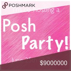 HOSTING A POSH PARTY!! Sunday, June 25th at 7 PM! Hi ladies! I'm backkkkk!!! And just in time to host my SECOND Posh Party!! Please help me share this post as I search for my perfect HOST PICKS among your closets! Let me know if you would like me to check out your closet or a specific item! Once I know the theme and more details I will provide updates. XOXO Nadia Tops