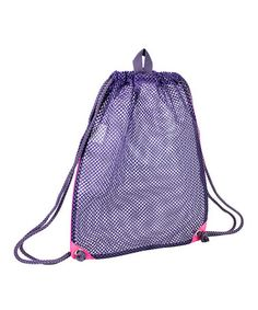 Blackberry Mesh Drawstring Bag by Fuel by Eastsport #zulily #zulilyfinds
