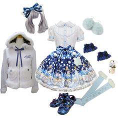 Angelic Pretty - Sugar Dream Dome - Winter - Snow - My Polyvore Coords