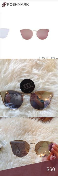 "🆕💕qUAY ""all my love"" sunnies! New tagged pristine Quay Australia Accessories Sunglasses"