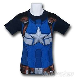 Captain America Winter Soldier T-Shirt