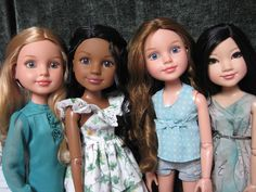 bfc ink dolls | BFC Ink Doll Review: Calista, Yuko, Addison, Kaitlin, and Nicolette
