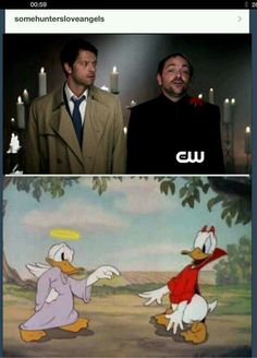 Cas and Crowley | Supernatural