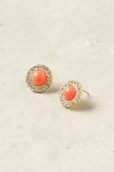 sparkly post earrings from anthropologie