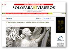Nota escrita por #placeOK para el @ColombiaTravelBlog de @See Colombia Travel destacada en uno de los principales portales turísticos del Perú: #SoloParaViajeros de Guillermo Reaño.  http://soloparaviajeros.pe/nota2-lajas-colombia.html