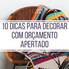 10 dicas para quem não sabe decorar - Blog Chega de Bagunça