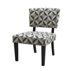Linon 36080GRA-01-KD-U - Taylor Chair Graphite | Sale Price: $145.99