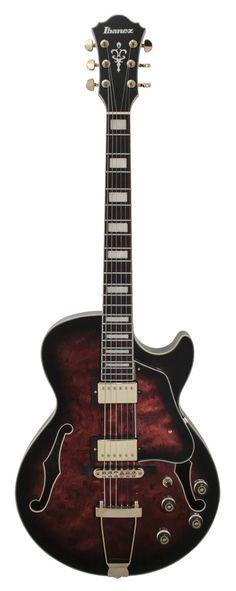 Ibanez Artcore Expressionist AG95 Dark Brown Sunburst Hollow-body Electric Guitar
