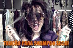 Truques espertos para usar shampoo seco. Sem meleca: aprenda o melhor jeito melhor de aplicação ❤ - Truques de Maquiagem / Paola Gavazzi