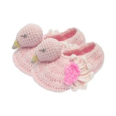 Crochet Flamingo Boo