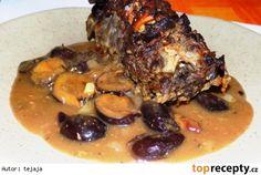 Jehněčí na švestkách Pork, Meat, Kale Stir Fry, Pork Chops