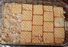 Andanças: Culinária: Torta Salgada de Biscoito (Bolacha) integral