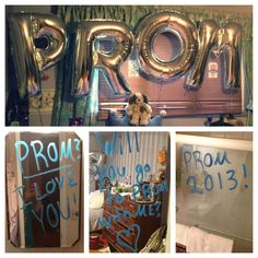 How I got asked to prom! So creative !! #prom