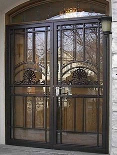 Double Larson Storm Doors Give The Look Of French Doors