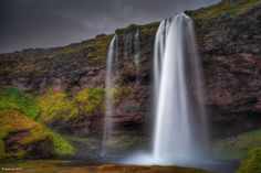 The beautiful Seljalandsfoss in southern Iceland. #travel #photography