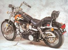 1980 Harley Davidson 80 ci FXWG, also known as the 80/80 custom Wide Glide. I feel that this was Harley's first real attempt at a true custom