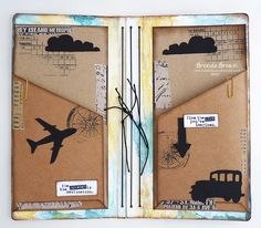 Hull HeARTfelt Vintage Mixed Media Journal Bumblebees and Butterflies: Eileen Hull HeARTfelt Vintage Mixed Media Journal--Inside the covers of the journal itself I made pockets to keep bits and pieces in .The Butterflies The Butterflies may refer to:
