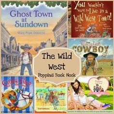 September Poppins Book Nook: The Wild West | 3 Dinosaurs