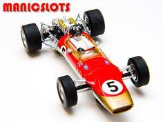 Slot car, Scalextric, Gold Leaf Lotus 49
