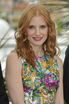 Jessica Chastain Red Hair Color