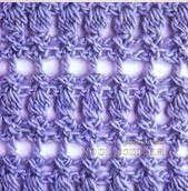 Punto crochet calado #4