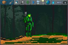 Master Chief want to fight it out ! #pixelart #Halo