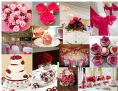 Red & Pink Gorgeousness!! #hitchedmoodboard