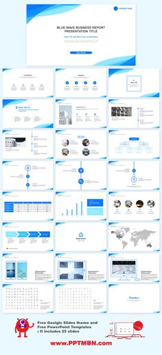 Do not spend hours with difficult templates, when you have a professional and easy-to-use template like this one. by PPTMONPPTMON Free Templates Features : Free Goolgle presentation and Free PowerPoint Templates for your presentation- Fully editable a… Business Ppt Templates, Business Presentation Templates, Presentation Folder, Presentation Design, Professional Presentation, Free Ppt Template, Powerpoint Design Templates, Ppt Design, Booklet Design