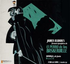 Flyer for a signature event during the Madrid Book Fair.